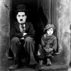 The Kid (1921) Directed by Charles Chaplin Shown from left: Charles Chaplin (as Tramp), Jackie Coogan (as The Kid)